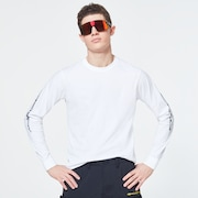 Oakley® Definition Tee College LS - White