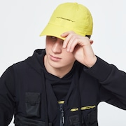 Oakley® Definition 6 Panel Stretch Hat Racing - Radiant Yellow