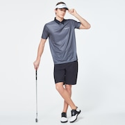 Camo Back Evo Golf Short Sleeve Polo Shirt - Wrought Iron