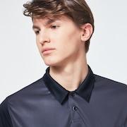 Camo Evo Pocket Short Sleeve Polo Shirt - Blackout