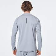 Foundational Training  Long Sleeve Tee - Fog Gray