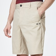 Chino Icon Golf Short - Safari