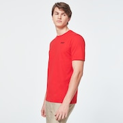 Back Ad Heritage Tee - High Risk Red