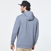 Patch Hoodie Fleece - New Athletic Gray