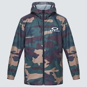 Enhance Wind Jacket YTR 1.0 - Green Print