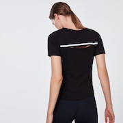 Ellipse Color Block Short Sleeve - Blackout