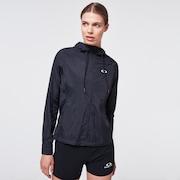 Run Free FZ Hooded Jacket - Blackout
