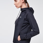 Run Free FZ Hooded Jacket - Blackout