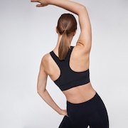 Ellipse Racerback Sports Bra - Blackout