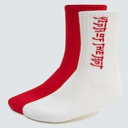 Year of the Rat Socks - Red Line