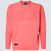 Skull Common Sweater Crew - Coral Pink