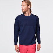 Skull Common Sweater Crew - Peacoat