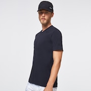 Skull Common V-Neck Tee - Blackout