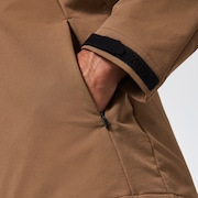 RS Shell Brushed Warm Jacket - Cinnamon