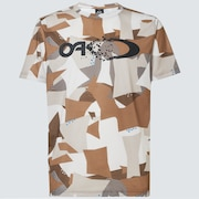 Enhance QD SS Tee Graphic 10.7 - Brown Print
