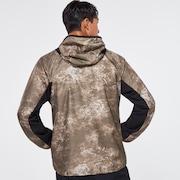 Enhance Wind Mesh Jacket 10.7 - Brown Print
