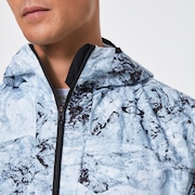 Enhance Wind Mesh Jacket 10.7 - White Print