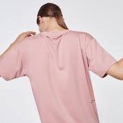 WMNS QDC Off Body SS Tee - Pink Haze