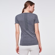 WMNS O-Fit S/S Tee - Dark Gray Hthr