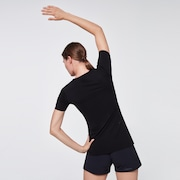 WMNS O-Fit S/S Tee - Blackout