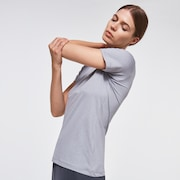 WMNS QDC SS Tee Ellipse - New Athletic Gray