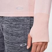 WMNS O-Fit L/S Tee - Pink Haze