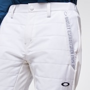 Skull Uneven Puff Pants 2.0 - White