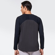 Slant L/S Tee 2.0 - Blackout