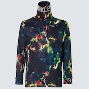 Skull Cosmic HI-Neck LS Shirts