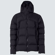 RS Shell Fluffy Down Jacket - Blackout