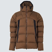 RS Shell Fluffy Down Jacket - Cinnamon