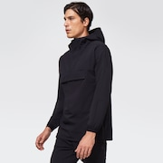 RS Shell Brushed Warm Anorak - Blackout