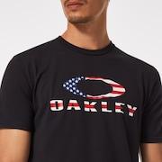 O Bark - Black/American Flag
