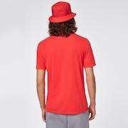 O-Bold Ellipse - Poppy Red