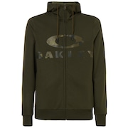 Bark FZ Hoodie - New Dark Brush