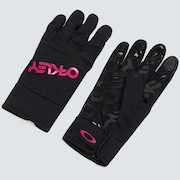 Factory Park Glove - Black/Rubine