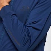 Foundational Training Hoodie FZ - Universal Blue