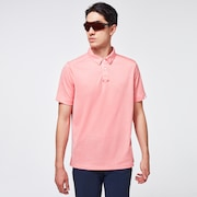 Gravity Short Sleeve Polo 2.0 - Poppy Red