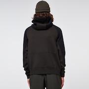 Sierra DWR Fleece Hoody - Black/Green