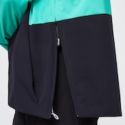 TNP Insulated Anorak - Black/Mint