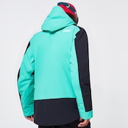 TNP BZI Jacket - Black/Mint
