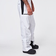 TNP Lined Shell Pant - White