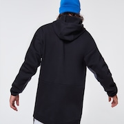 TNP DWR Fleece Hoody - Blackout