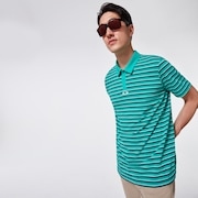 Striped Piquet Polo