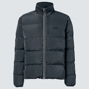 Latitude Full Zip Puffer Jacket - Uniform Gray