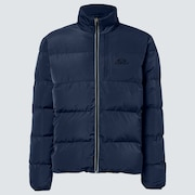 Latitude Full Zip Puffer Jacket - Black Iris