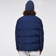 Latitude Full Zip Puffer Jacket - Black Iris