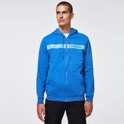 Straight Peak Fleece Hoodie - Royal Blue