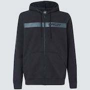 Straight Peak Fleece Hoodie - Blackout