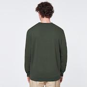 B1B Camo Crewneck Fleece - Dark Olive Green